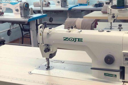 При работе на швейной машине надо соблюдать